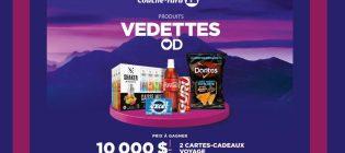 Concours Les produits vedettes Couche-Tard
