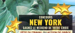 Concours New York - Fête du travail OU Action de grâce