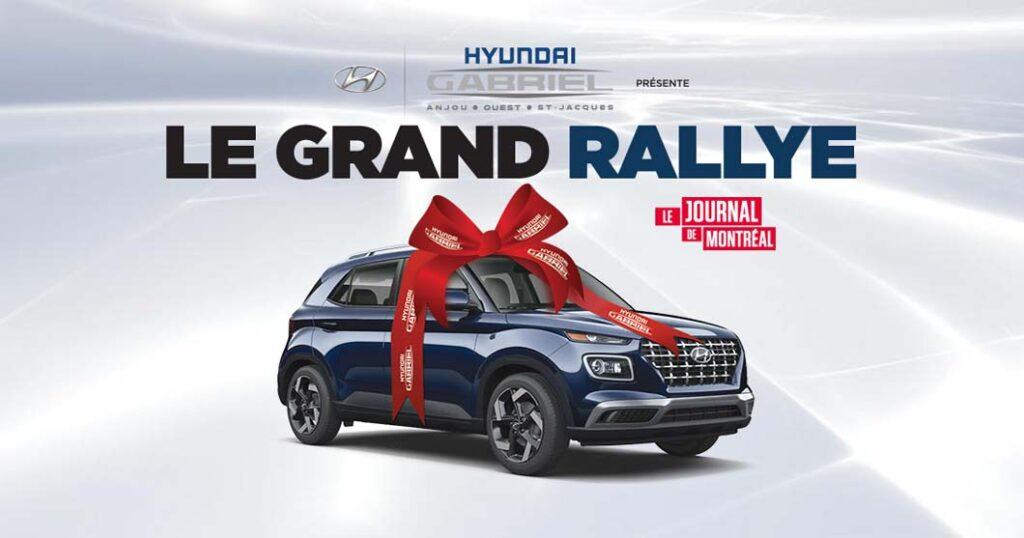 Concours Journal de Montréal Le grand rallye - Gagner 1 ...