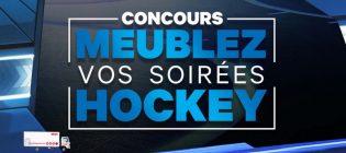Concours Brick TVA Sports Meublez vos soirées hockey