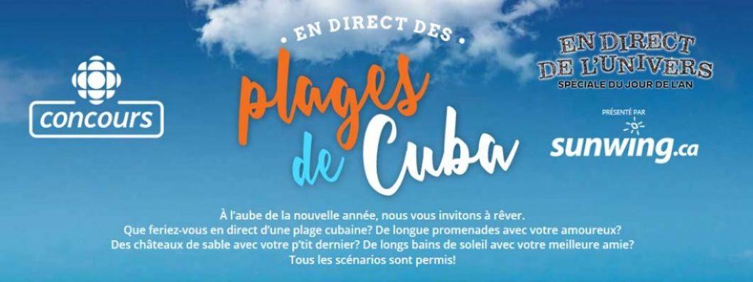 Concours Radio Canada En Direct Des Plages De Cuba Concoursenligne Ca