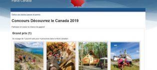Concours Parcs Canada Découvrez le Canada