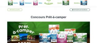 Concours Cascades Prêt-à-camper