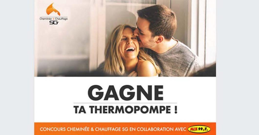 Concours Chauffage SG Gagnez votre thermopompe