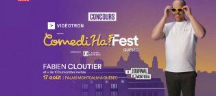 Concours ComediHa! Fest Fabien Cloutier
