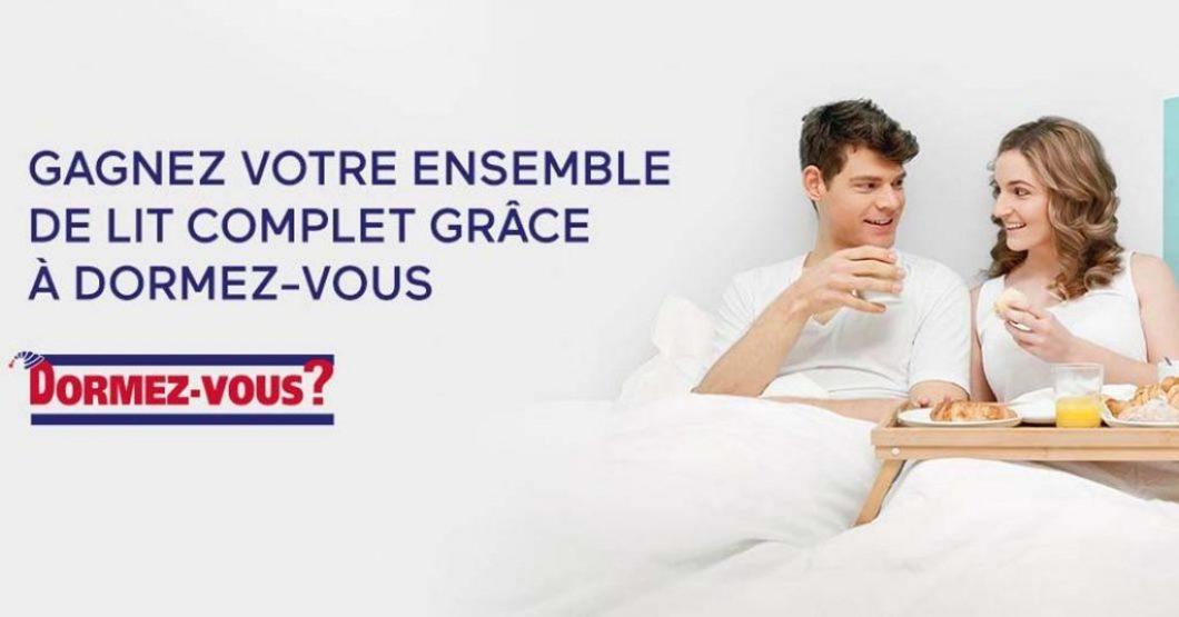 Concours Dormez-vous Gagnez votre ensemble de lit complet