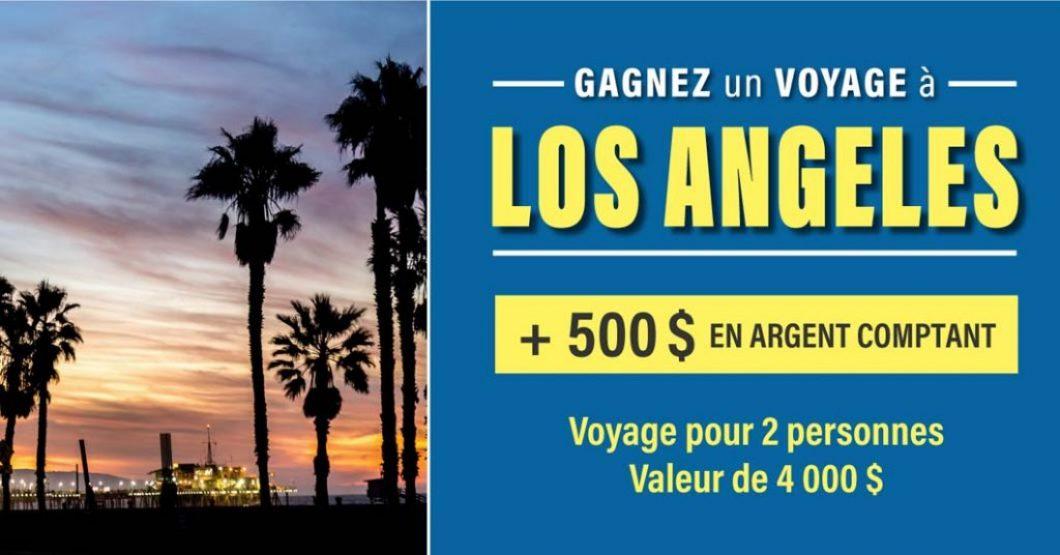 Concours Linen Chest Gagnez un voyage à Los Angeles