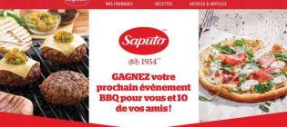 Concours Saputo Gagnez votre prochain événement BBQ pour vous et 10 de vos amis