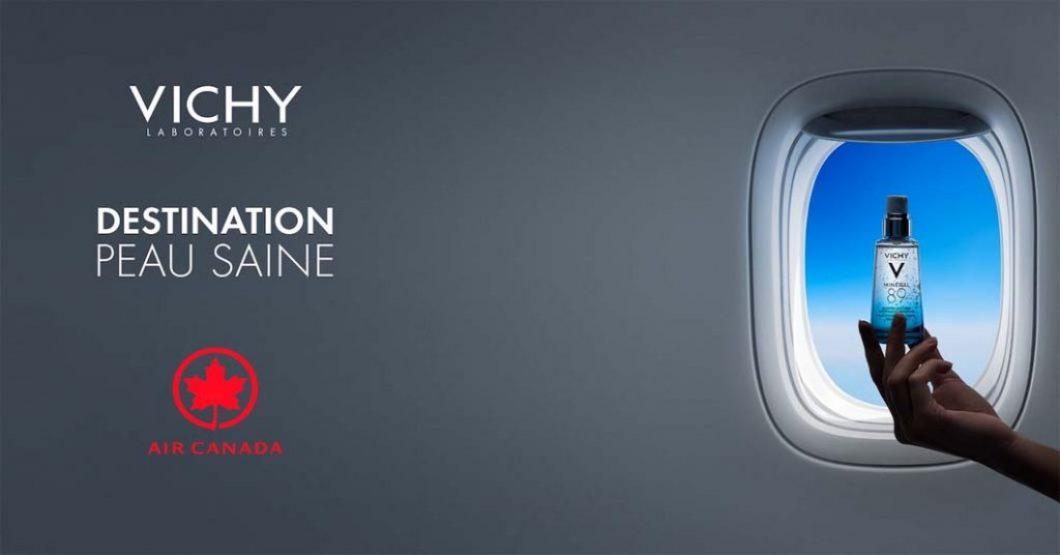 Concours Mineral 89 destination peau saine de Vichy X Air Canada