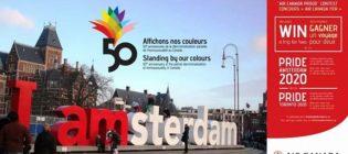 Concours Air Canada Fier d'affichons nos couleurs
