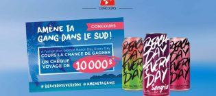 Concours Couche-Tard Amène ta gang dans le sud #AmeneTaGang