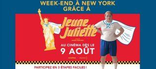 Concours Gagnez un week-end à New-York grâce à Jeune Juliette