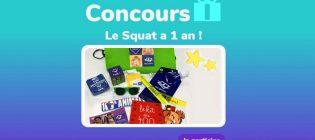 Concours Télé-Québec Le Squat a un an