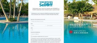 Concours Vacances Air Canada et Iberostar Hotels & Resorts