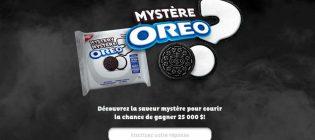 Concours Saveur mystère OREO