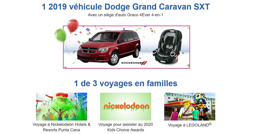 """Prix du concours Toys """"R"""" Us La grande fête d'anniversaire de Geoffrey"""