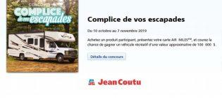 Concours Jean-Coutu Complice de vos escapades Gagnez un véhicule récréatif VR