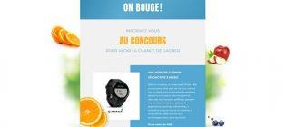 Concours Oasis On bouge - Gagnez une montre intelligente