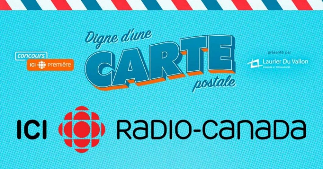 Concours Radio-Canada Digne d'une carte postale