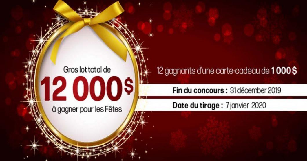 Concours Linen Chest Gros lot total de 12 000 $ à gagner pour les fêtes