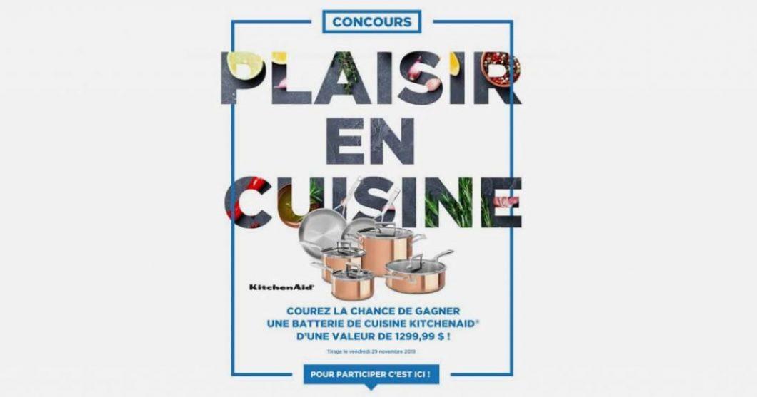 Concours Plaisir en cuisine des Spécialistes de l'électroménager