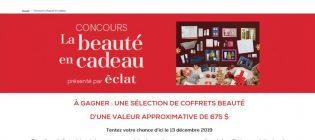 Concours Jean Coutu La beauté en cadeau