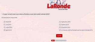 Concours Sondage La Ronde