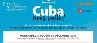 Concours En direct de l'univers Jour de l'an (Cuba)