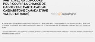 Concours Maison & Demeure Caesarstone