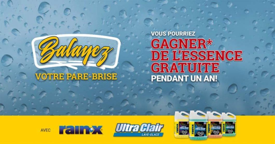 Concours Rain-X Balayez votre pare-brise