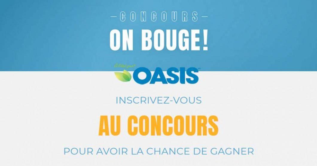 Concours Oasis Soyez prêt pour la saison de course