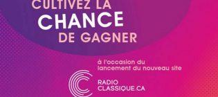 Concours Le nouveau Radio-Classique.ca