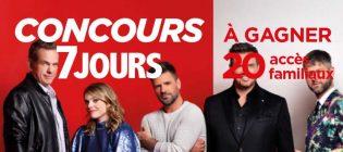 Concours TVA Événement La voix - 7 Jours