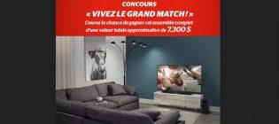 Concours Brault & Martineau Vivez le grand match