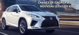 Concours Lexus RX 450h