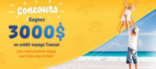 Concours Voyages Bergeron Gagnez 3 000 $ en crédit-voyage Transat