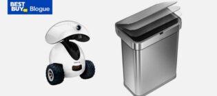 Concours Best Buy Gagnez un Dogness iPet Smart Robot et un Simplehuman Sensor Can