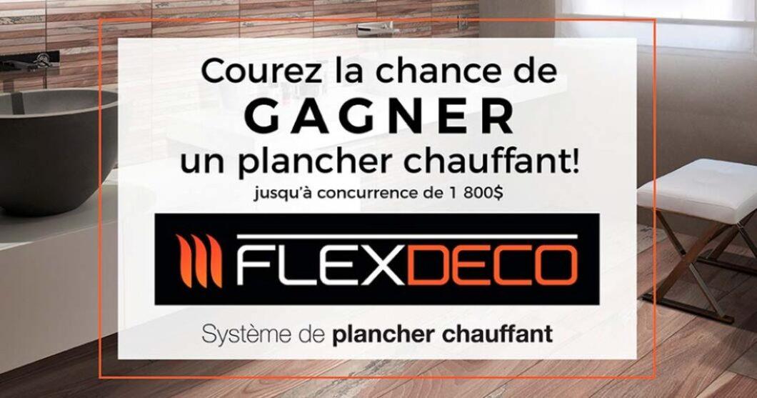 Concours Flordeco Gagnez votre plancher chauffant
