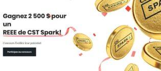 Concours CST Spark Éveillez leur potentielREEE de 2500$