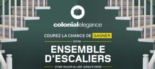 Concours Rona Ensemble d'escaliers Colonial Elegance