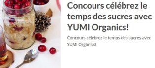 Concours Découvrez la nouvelle saveur de gruau-frigo Canneberge-érable