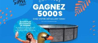 Concours Gagnez 5 000 $ chez votre détaillant Sima