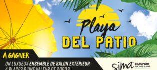 Concours WKND FM Playa Del Patio
