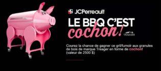 Concours Le BBQ c'est cochon de JC Perreault