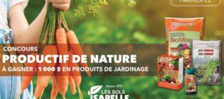 Concours Du jardin dans ma vie Productif de nature
