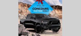 Concours Simpli-cité 6 mois de RAM 1500 Rebel