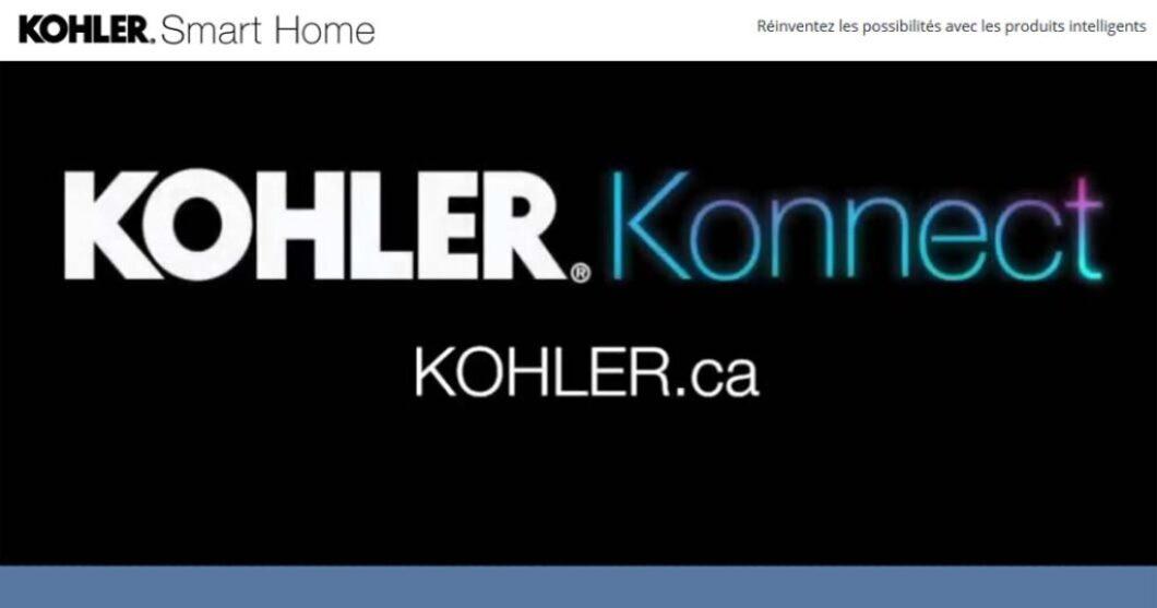 Concours Kohler Produits intelligents pour la maison