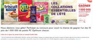 Concours Pharmaprix Gagnez 1 000 000 en points PC Optimum