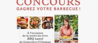 Concours Gagnez votre barbecue avec Geneviève O'Gleman