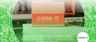 Concours Un mois de menus résolus avec Cook it et Zeste